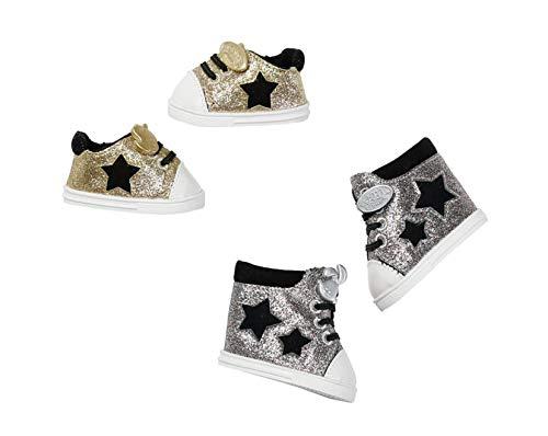 Zapf Creation 826997 BABY born Sneakers poppenkleding 43 cm, 1 paar, kleur naar voorraad