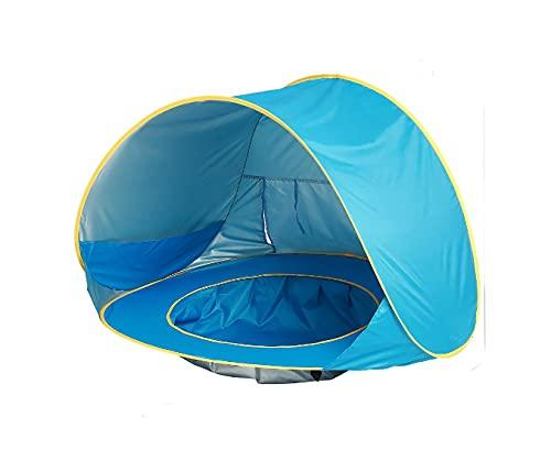 Pop - Up Beach Children with Swimming Pool Tent Plegable Por