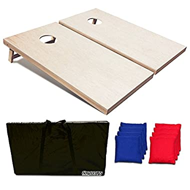 Sports Festival ® SF17047 Regulation Size Wooden CornHole Set (3FT)