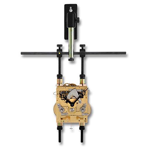 BERGEON Werkhouder - materiaal: metaal - wandmodel - voor grote uurwerken zonder kast (van bijv. tafelklokken, slinger- en wandklokken) - speciaal uurwerkgereedschap - 4360562
