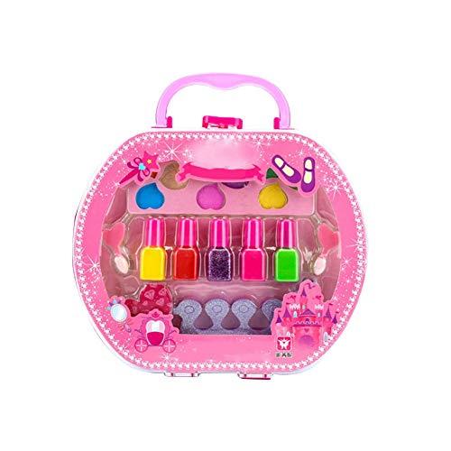 SinceY Kindernagellack, waschbeständig, abziehbar, umweltfreundlich, für Kosmetik Bühnenshow Kleines Mädchen Nagellack Set,5 teiliges