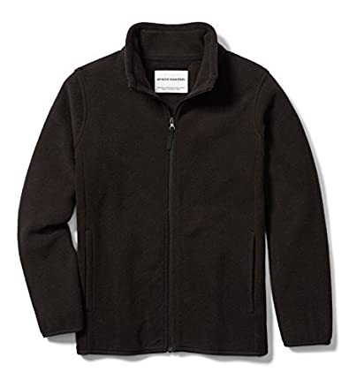 Amazon Essentials Fleece-Outerwear-Jackets, Negro, S