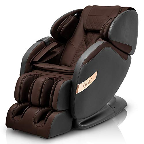 Osaki OS-Champ Massage Chair, Black & Brown