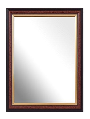 Spiegellijst mahonie, 40,6 x 30,5 cm, 1 stuk