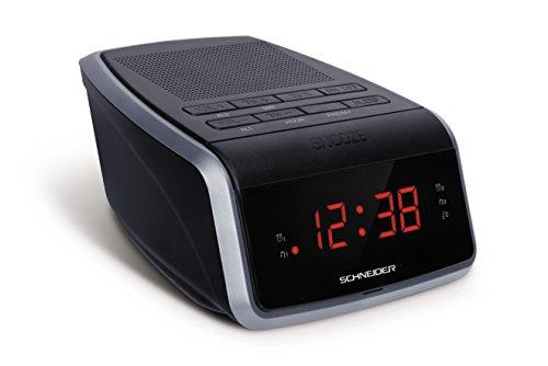 Schneider sc050acl–Radio Wecker, Schwarz