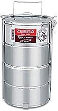 Zebra 4 Tiers Stainless Steel Food Carrier 14Cm