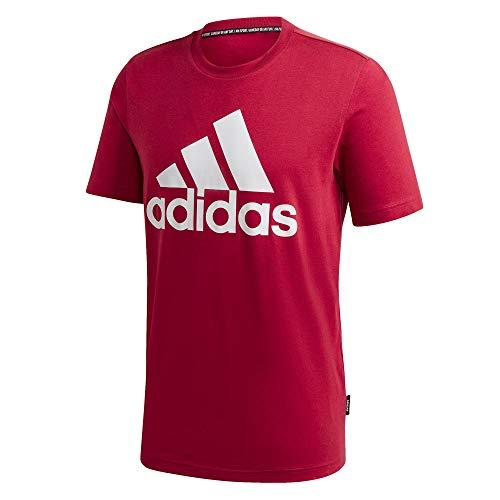 adidas Herren MH BOS Tee T-Shirt, Legacy red, M