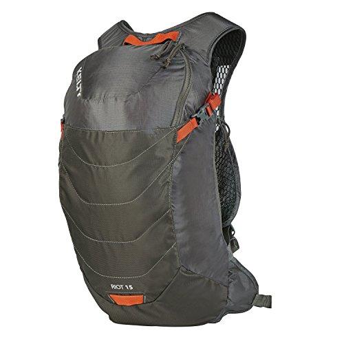 Kelty Unisex's Riot Hiking Backpack, Raven, 15 Litre