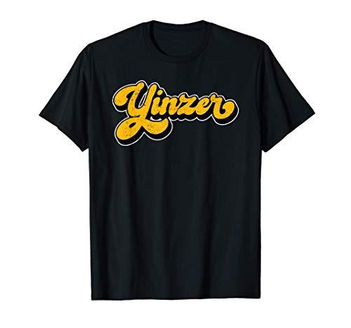 Yinzer Pittsburgh 412 Area Code Love Pgh Burgh Yinz T-Shirt
