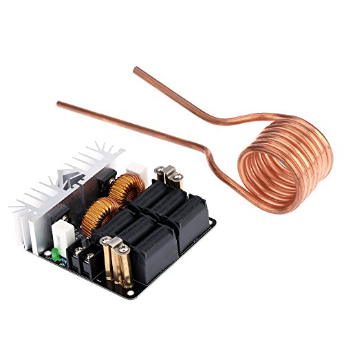 KKmoon Bassa ZVS 12-48V 20A 1000W Modulo Macchina Termica Induzione di Alta Frequenza