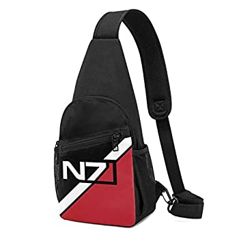 NBVGFV Ma_ss Eff_ect N7 Crossbody Sling Backpack Sling Bag Travel Hiking Chest Bag Daypack