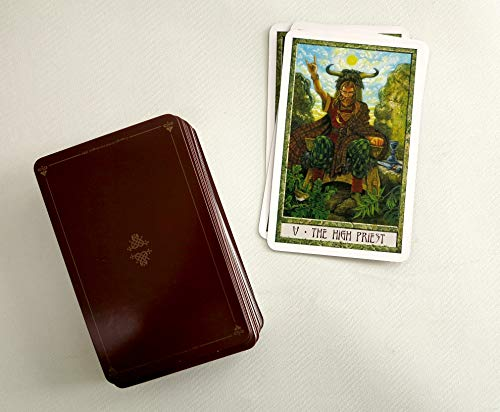 The DruidCraft Tarot: Use the magic of Wicca and Druidry to guide your life (book and 78 cards)