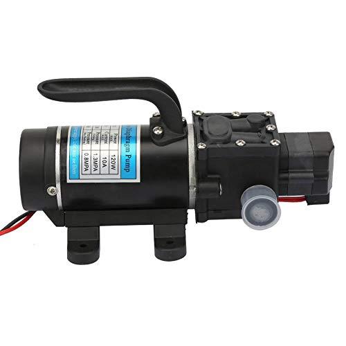 Rockyin Bomba de agua eléctrico de 120 W 10L / m autocebante Bomba de diafragma de alta presión Lavadoras a 12 V / 10