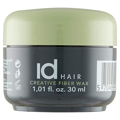 id Hair - Creative Fiber Wax Mini - Reisegröße - Faser wachs - Starker und flexibler Halt - Mattes Finish - Geeignet für kurzes bis mittellanges Haar - 30 ml
