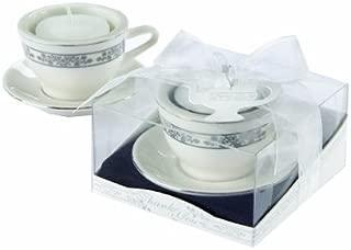 Kate Aspen Teacup and Tealight Porcelain