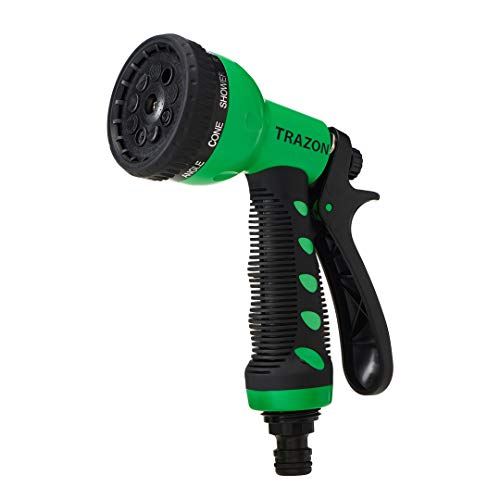 Garden Hose Nozzle Heavy Duty, High Pressure. Water Hose Nozzle Sprayer, Gun, Head. Spray Nozzle for...