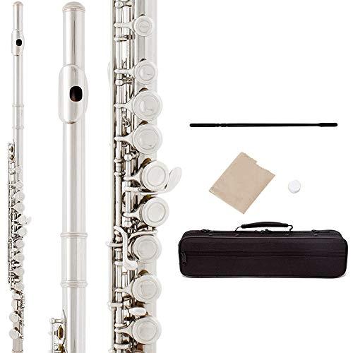 Flöte Leichtes Musikinstrument Langlebig für die Aufführung mit Koffer