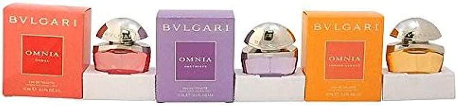 Bvlgari Omnia The Jewel Charms Collection Coffret: Omnia Amnethyste + Omnia Coral + Omnia Indian Garnet 3x15ml/0.5oz