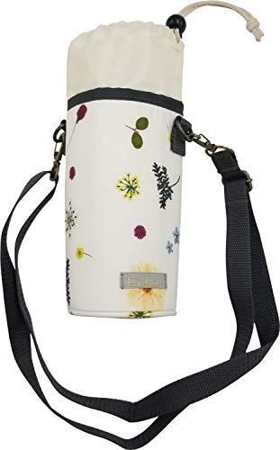 ツイン(Twin) ペットボトルホルダー A 花柄/ホワイト 500ml GE0918