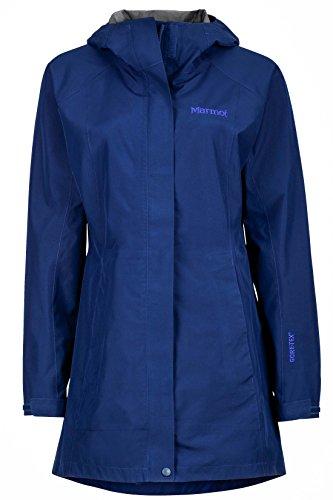 Marmot Essential Women's Lightweight Waterproof Rain Jacket, GORE-TEX with PACLITE Technology, Arctic Navy, X-Large