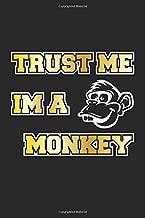 Trust me I am a Monkey: Monatsplaner, Termin-Kalender für lustige Affen | Geschenk-Idee | A5 | 120 Seiten