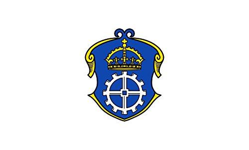 Unbekannt magFlags Tisch-Fahne/Tisch-Flagge: Gauting 15x25cm inkl. Tisch-Ständer