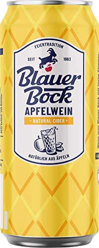 Blauer Bock Apfelwein Natural Cider 24x 0,5 Liter