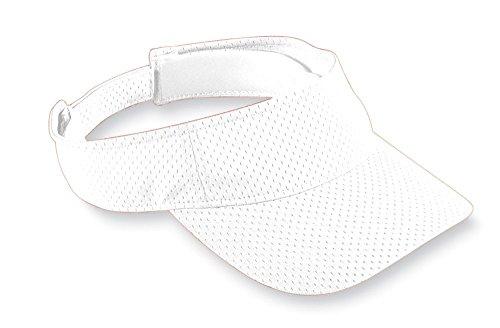 Augusta Sportswear Kids' Athletic MESH Visor OS White