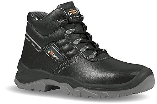 Upower BC10033-44, Industrial Boot, Unisex, Schwarz, 44 EU
