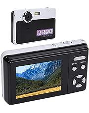 Ladieshow Mini digitalkamera, 3-fack zoom digitalkamera HD 24MP 1080P 2,4-tums LCD-skärmkamera med integrerad mikrofon/litiumbatteri
