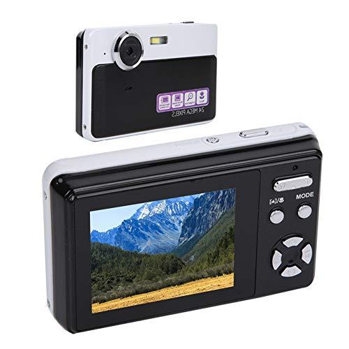 DAUERHAFT Video de Alta definición 1080P Cámara Digital con Zoom 3X Pantalla LCD Cámara Digital Grabar Video Tomar Fotos para Estudiantes de la Escuela, para Familiares, Amigos como Regalos