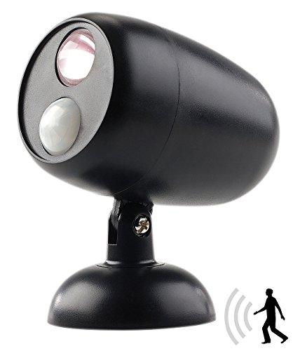 Lunartec LED Tischlampe: LED-Wand- & Stand-Leuchte mit Bewegungserkennung, 0,5 Watt, 35 Lumen (Drahtlose LED-Lampen)