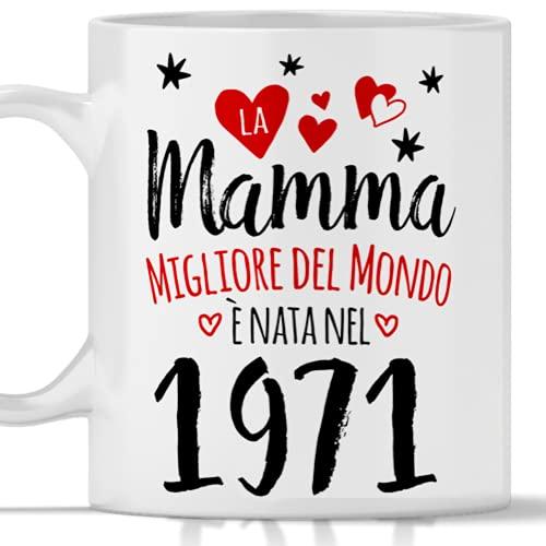 Tazza mamma 50 anni regalo donna per compleanno