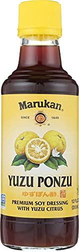 MARUKAN Yuzu Ponzu Premium Soy With Yuzu Citrus, 12 FZ