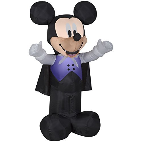 Lighted Disney Mickey Mouse Halloween Blow Up Props