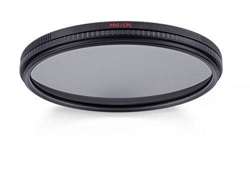 Manfrotto MFMFPROCPL-62 - Filtro Polarizador Circular Professional de 62mm