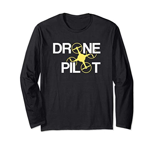 Piloto de Drones Manga Larga
