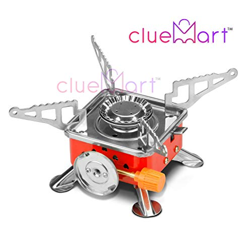 CluemartTM Gas Stove Camping Stove Folding Furnace 2800W Outdoor Stove Picnic Cooking...