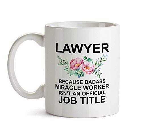 N\A Dason Lawyer Regalos para Mujeres Abogada Regalo Taza de Abogado para Ella Regalo para Abogada Abogada Regalo de Agradecimiento para Abogada 838396