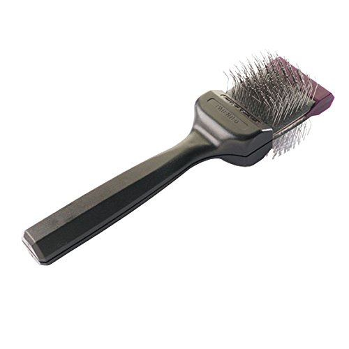 Les Pooch Purple Hard Brush Single