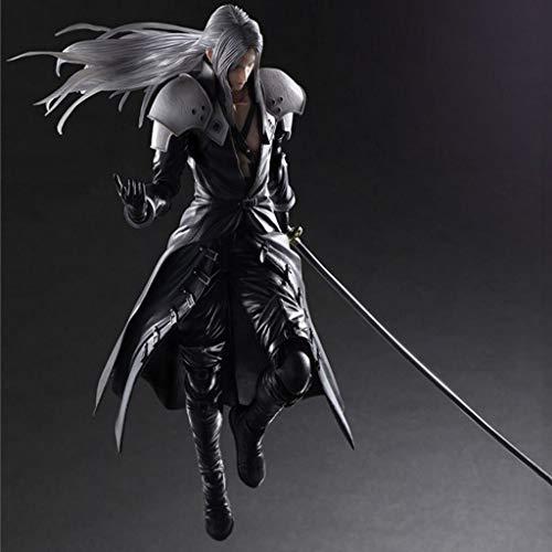 LBBD Sephiroth Figura de acción Final Fantasy VII Remake exquisito embalaje figura decoración regalos de Pascua
