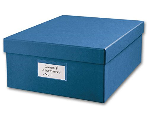 EGP Cancelled Checks Storage Box, 1 Box, 9 3/4' x 5' x 12'