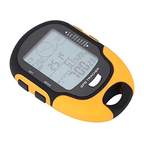 Multi-función Altímetro Barómetro Digital GPS Receptor de navegación USB de Mano Recargable