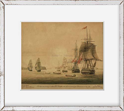 Foto: Guerra de 1812, marineros británicos, Fort Oswego, Lago Ontario, Marinos Reales, Drummond