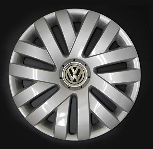 "VW Genuine OEM Volkswagen Hubcap Jetta-Wagon SportWagen 2010-2014 Cover fits 16"" Wheel"