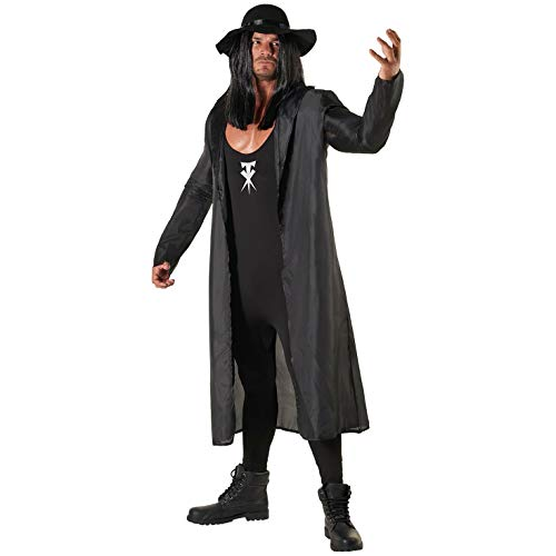 Morph Licensed Classic WWE The Undertaker Adults Halloween Costume – X-Large