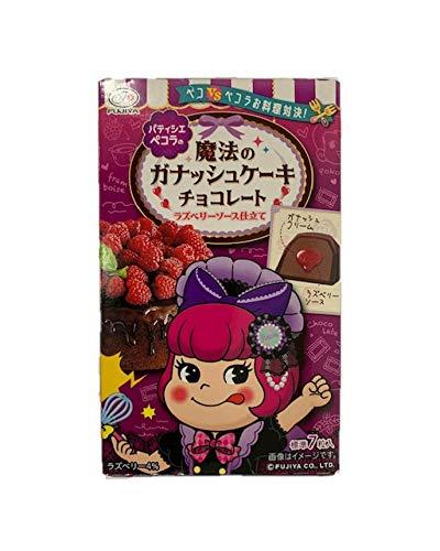 不二家 魔法のガナッシュチョコレートラズベリーソース仕立て7粒X5箱