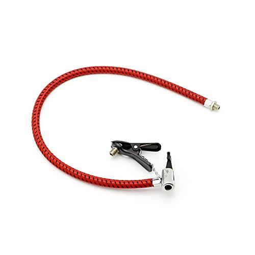 Huiouer - Tubo di ricambio per pompa ad aria per bicicletta, tubo di gomma
