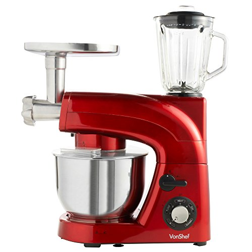 Vonshef Stand Mixer With Grinder And Blender Andres Wilkie