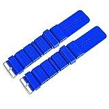 FOLOSAFENAR Pulsera con Soporte de Peso de Entrenamiento Duradero Azul Claro Pulsera con Soporte de Peso Deportivo Azul Oscuro, para Correr aeróbicos(Navy Blue)